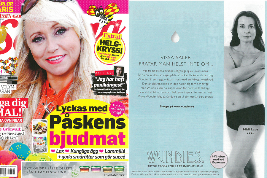 Wundies i Expressen Söndag